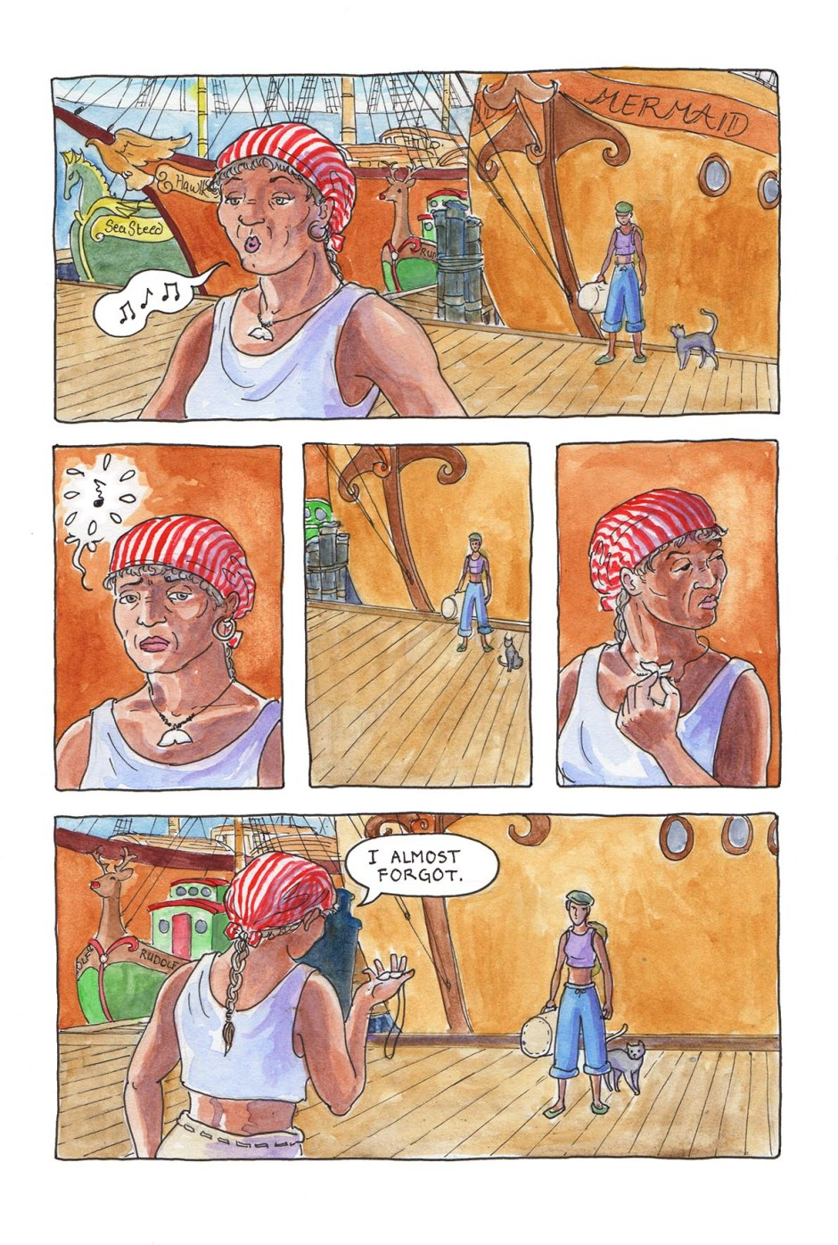 Page 25 — A sudden decision