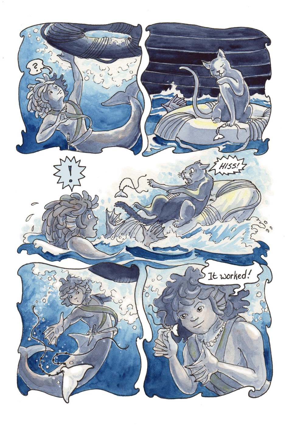 Page 65 — Gull's catch of the day!
