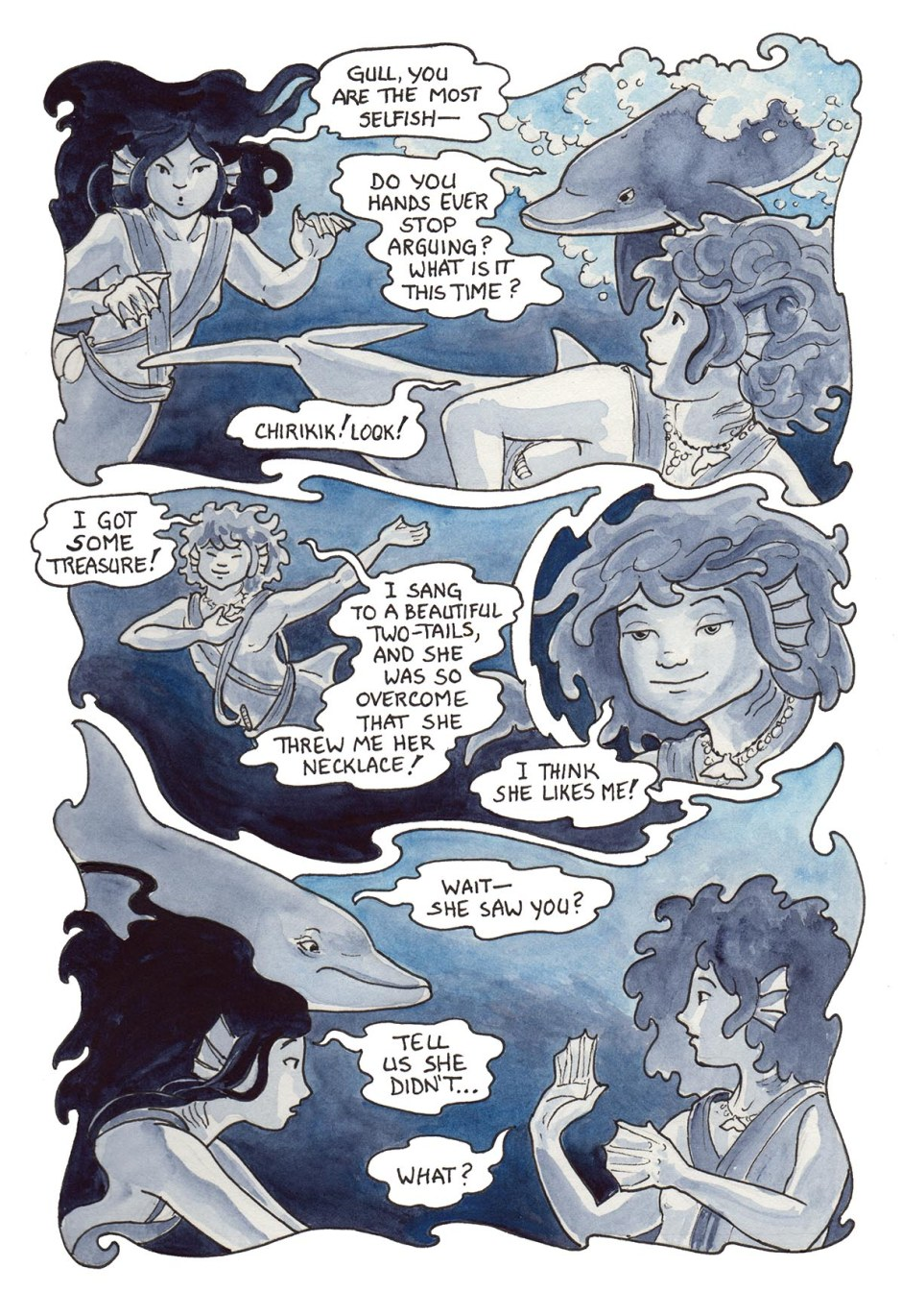 Page 76 — Sami has an admirer! He may be a bit lacking in judgement, though…
